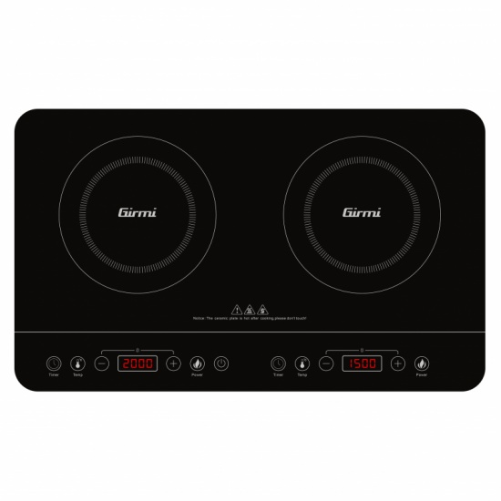 Double induction hob Girmi PI50 - 3