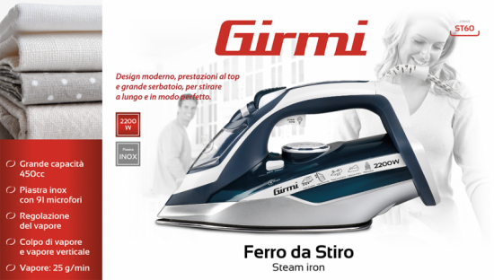 Steam iron Girmi ST60 - 8
